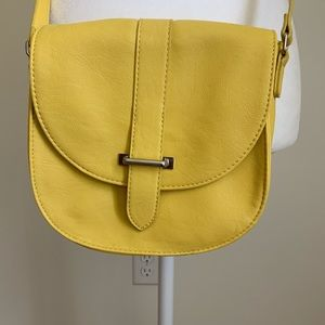 Express Yellow Crossbody Bag